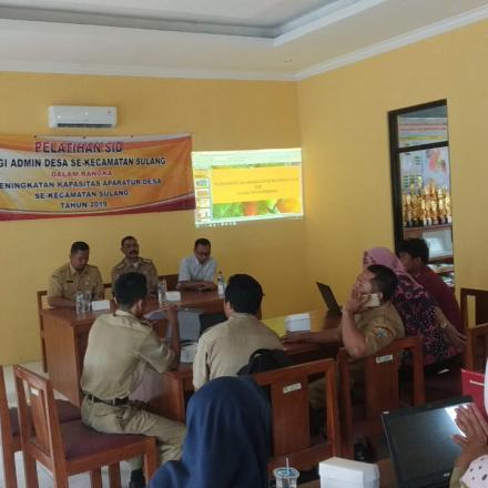 Album : Pelatihan SID Kecamatan Sulang